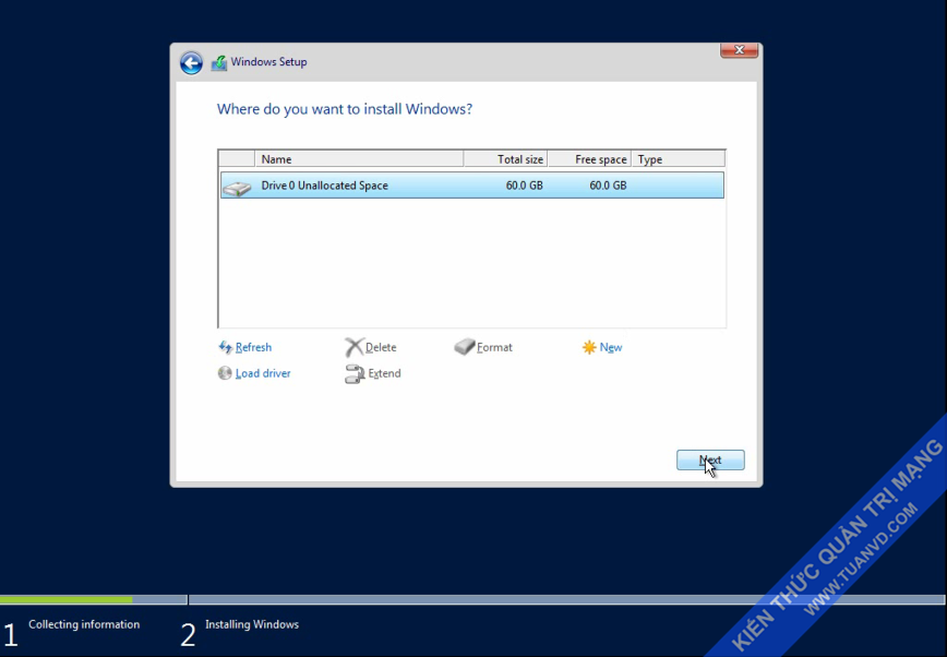 Setup windows server 2016-6