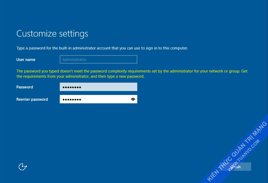 Setup windows server 2016-8